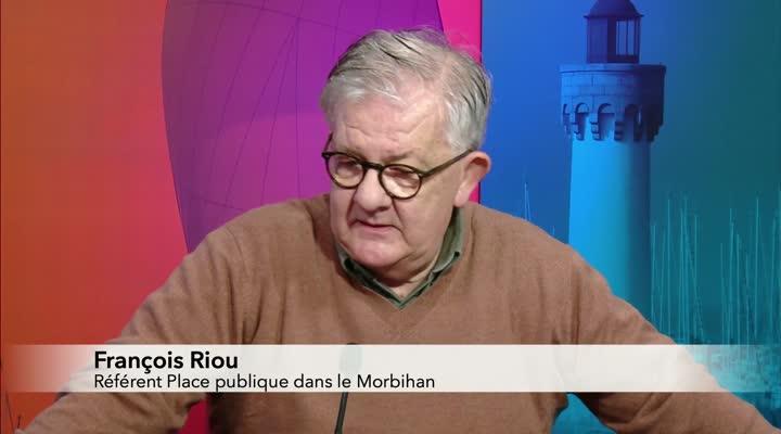 Thumbnail François Riou, référent du mouvement Place publique en Morbihan