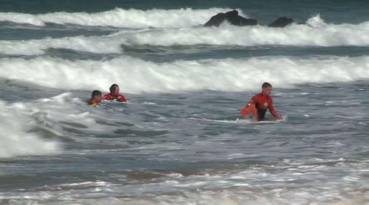 Thumbnail Surveillance des plages : fin de formation à Quiberon