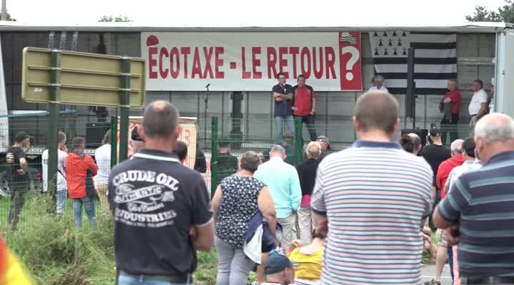 Thumbnail Ecotaxe : les bonnets rouges craignent son retour !