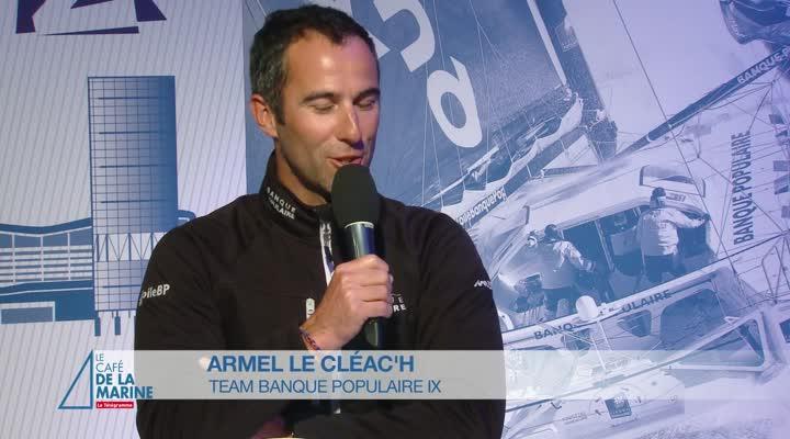 Thumbnail Café de la Marine du Télégramme avec Armel Le Cléac'h