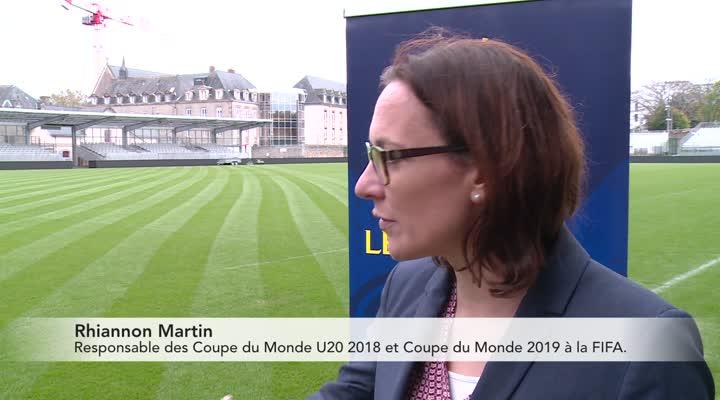 Thumbnail Coupe du monde féminine 2018 U20 : la Bretagne en première ligne