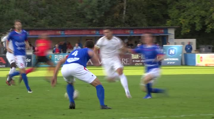 Thumbnail Football. US Concarneau. Guillaume Jannez, capitaine des Thoniers