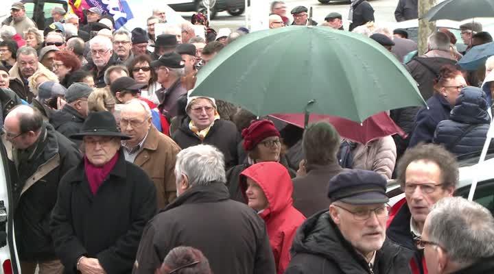 Thumbnail Hausse de la CSG : les retraités dans la rue