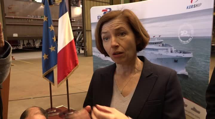 Thumbnail La Ministre des Armées fait son service après vente dans les chantiers navals bretons