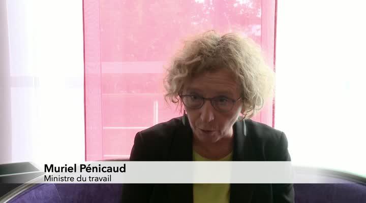 Thumbnail Muriel Pénicaud assure le service après-vente de la réforme de l'apprentissage
