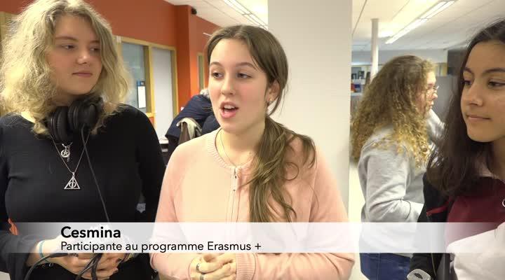 Thumbnail Un atelier radio avec 50 lycéens européens