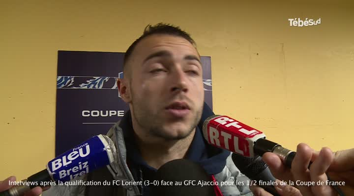 Thumbnail Lorient se qualifié pour les 1/2 finales de la Coupe de France : les réactions