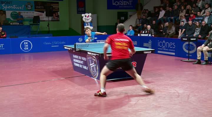Thumbnail LDC Hennebont - Elsov : les points du match Shengpeng-Sgouropoulos (3-1)
