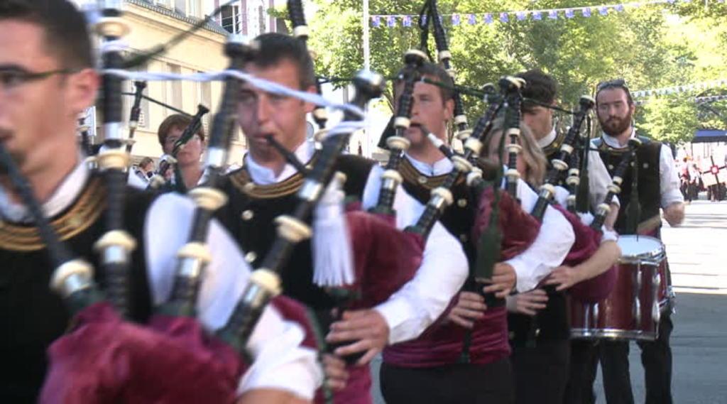 Thumbnail Lorient, le festival interceltique : la Grande Parade