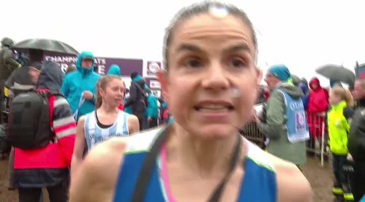 Thumbnail Championnat de France de cross à Plouay : Sophie Duarte, le bonheur au