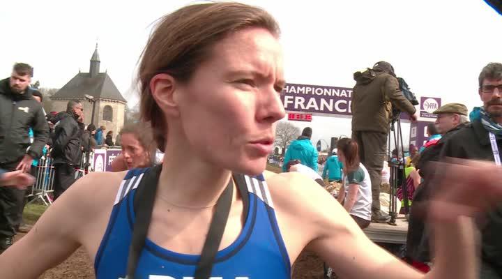 Thumbnail Championnat de France de cross à Plouay : Claire Perraux maîtrise