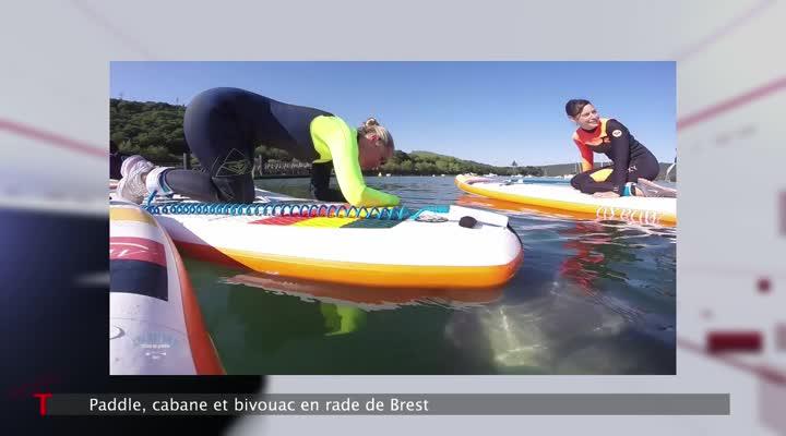 Thumbnail Paddle, calme et volupté en rade de Brest