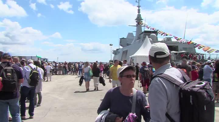 Thumbnail Fêtes maritimes de Brest :  les sauveteurs à l'honneur