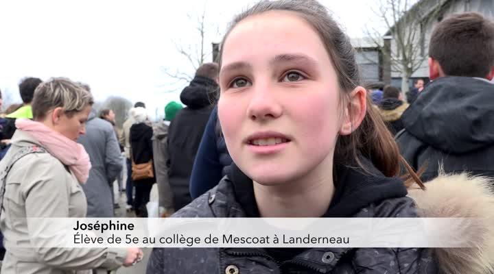 Thumbnail Mobilisation pour un second collège pour Landerneau