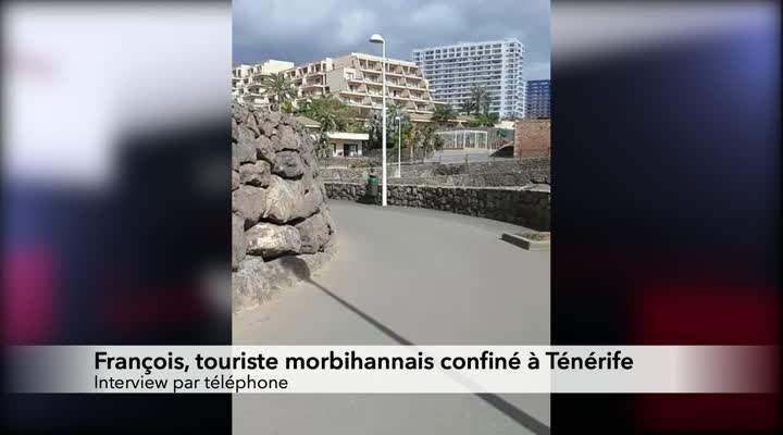 Thumbnail Coronavirus : des bretons coincés à Tenerife