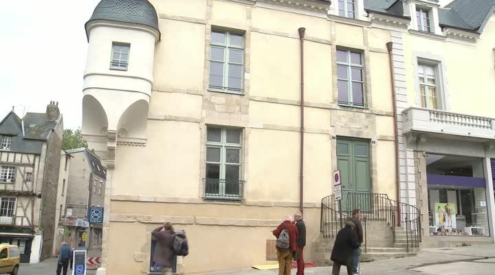 Thumbnail Vannes : les travaux de l'hôtel de Francheville terminés