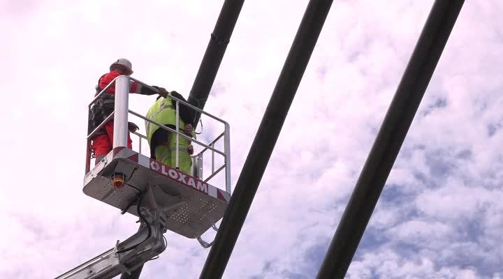 Thumbnail Inspection du pont de l'Iroise : le bilan des 6 jours d'intervention