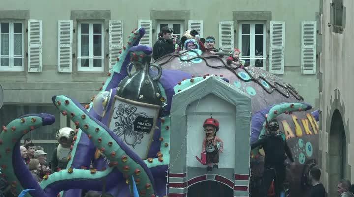 Thumbnail Mardi Gras : toujours une bonne ambiance à Douarnenez !