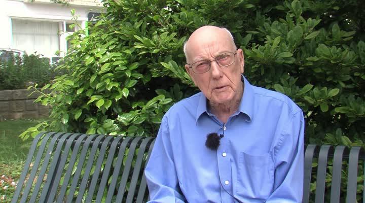 Thumbnail Un vétéran américain de la seconde Guerre Mondiale en séjour à Brest