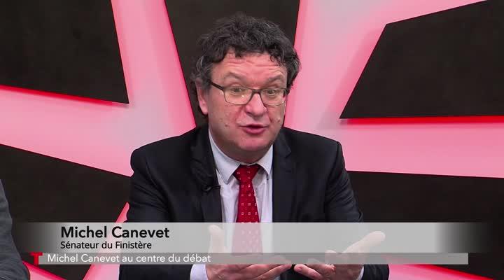 Thumbnail Michel Canevet au centre du débat