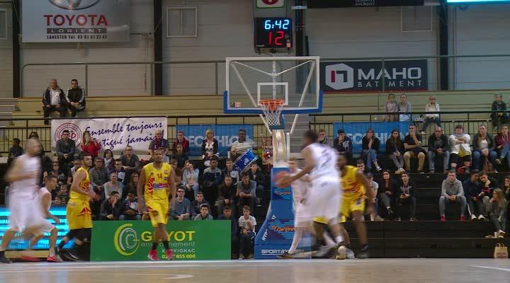 Thumbnail (N1M) Le Cep Lorient Basket-ball entame par une victoire
