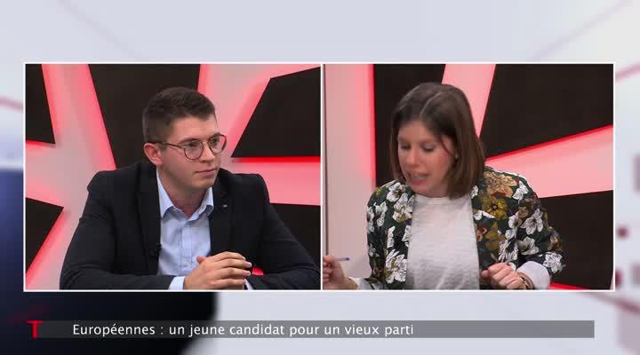 Thumbnail Européennes : Glenn Le Saout, jeune candidat PCF