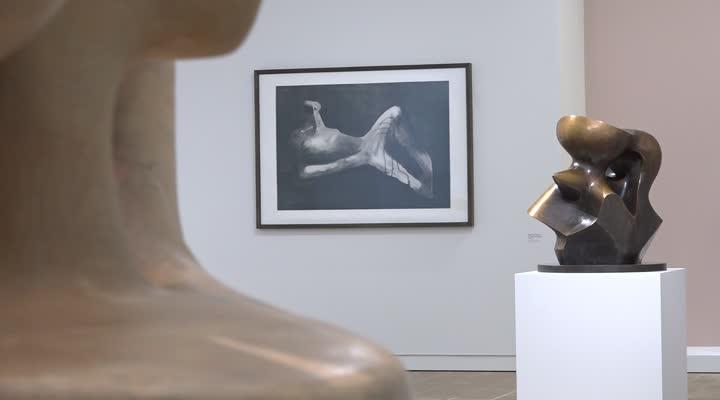 Thumbnail Henry Moore : le sculpteur s'expose à Landerneau