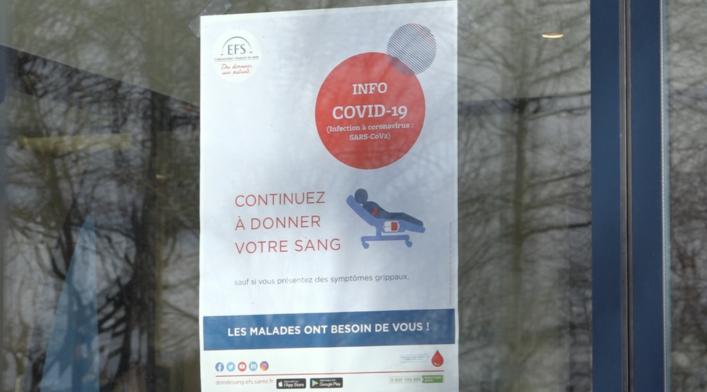 Thumbnail Don du sang : moins 10% en Bretagne