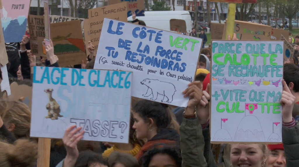 Thumbnail Climat : 2500 jeunes à Lorient