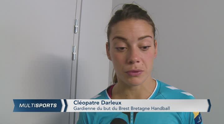 Thumbnail Brest Bretagne Handball 23 - 26 Györ Audi ETO KC