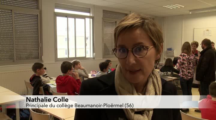 Thumbnail Les collèges bretons se mettent aux