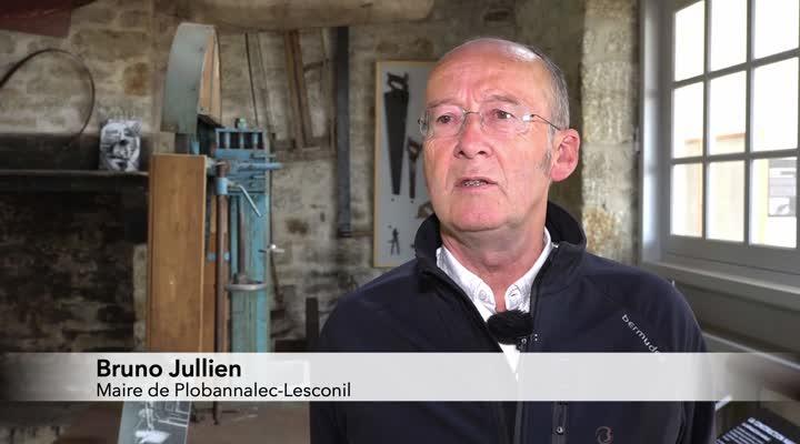 Thumbnail LESCONIL : LE CHANTIER LE COEUR DEVIENT UNE MAISON DU PATRIMOINE