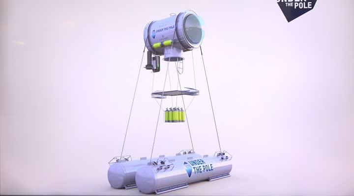 Thumbnail Under The Pole III : L'équipe teste sa capsule sous-marine
