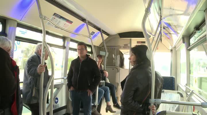 Thumbnail Un bus électrique en test à Lorient