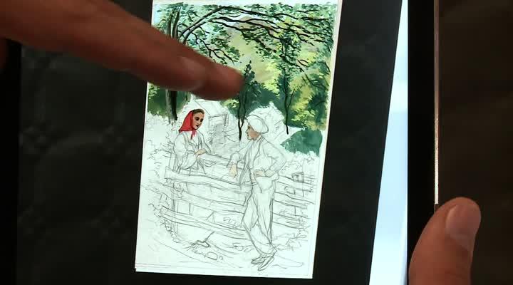 Thumbnail Numérique : Quand les cartes postales deviennent interactives