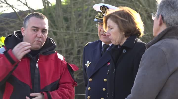 Thumbnail Florence Parly, Ministre des armées à Brest