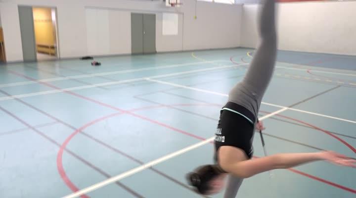 Thumbnail Deux Brestoises aux championnats du monde de twirling bâton
