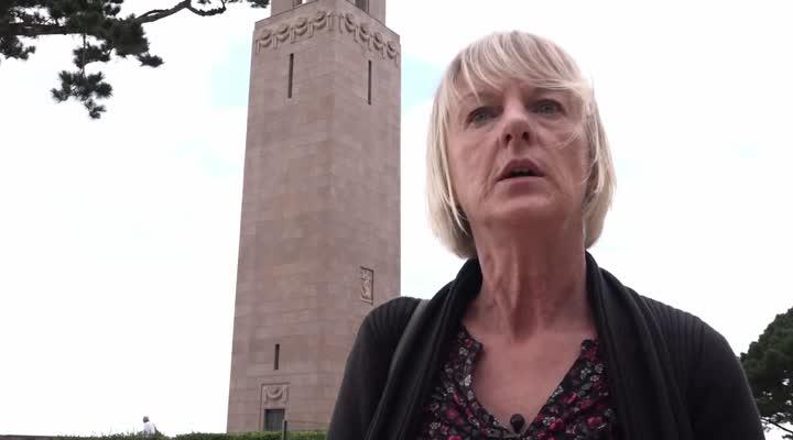 Thumbnail En haut du monument américain de Brest