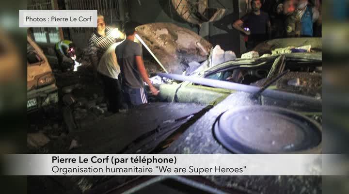 Thumbnail Un breton vient en aide aux populations d'Alep en Syrie