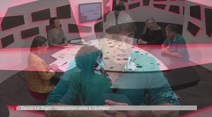 Thumbnail Daniel Le Bigot, le vert de l'opposition quimpéroise