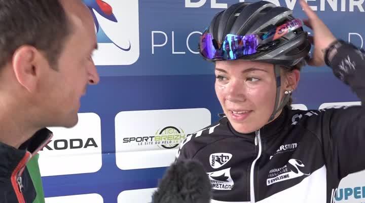 Thumbnail Cyclisme : Marie-Morgane Le Deunff sacrée vice-championne de France Avenir sur route