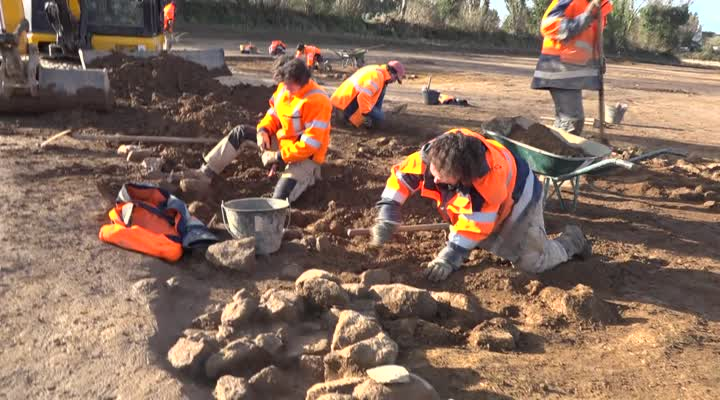 Thumbnail Un village médiéval découvert dans le Finistère