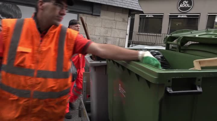 Thumbnail Collecte des déchets : Quimper plébiscite le cheval !