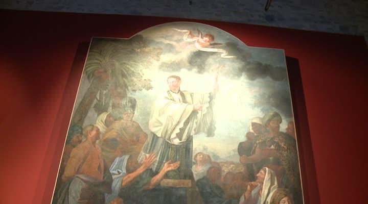 Thumbnail L'exposition Contemplations se prépare au mysée de la Cohue
