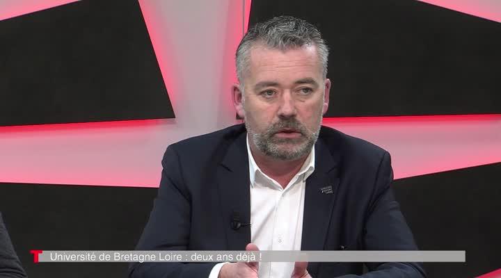 Thumbnail Université : le président de l'Université Bretagne Loire fait le point