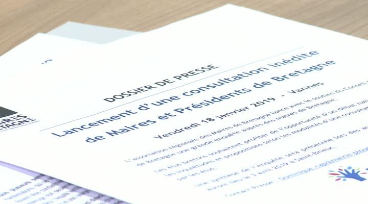 Thumbnail Les maires bretons unis pour leur propre consultation