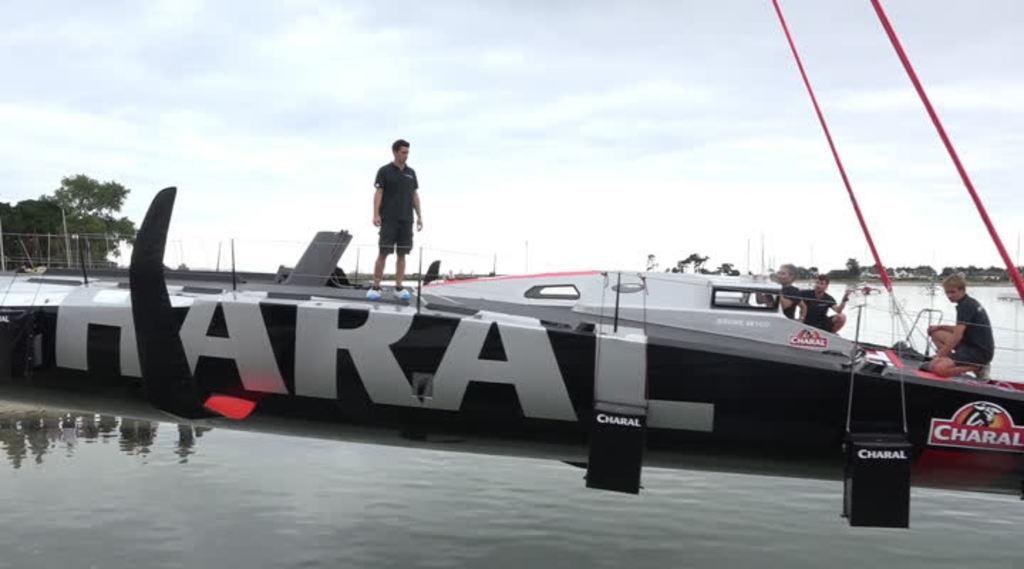 Thumbnail Le nouveau bateau de Jérémie Beyou