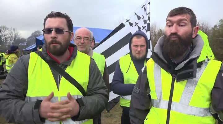 Thumbnail Gilets jaunes : ils restent mobilisés !