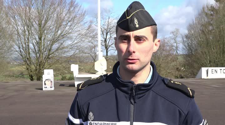 Thumbnail Hommage au colonel Beltrame à l'école de gendarmerie de Châteaulin