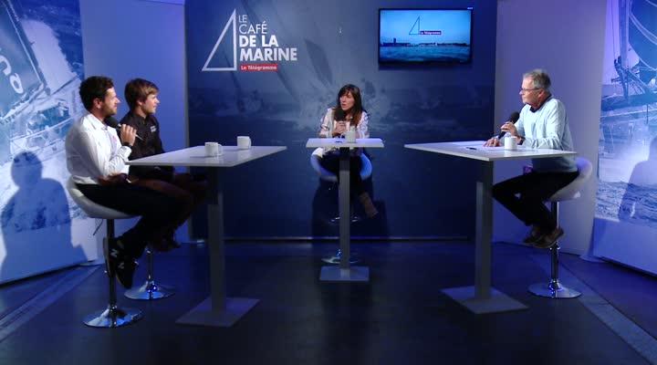 Thumbnail Le Café de la Marine du Télégramme avec Sebastien Simon et Anthony Marchand